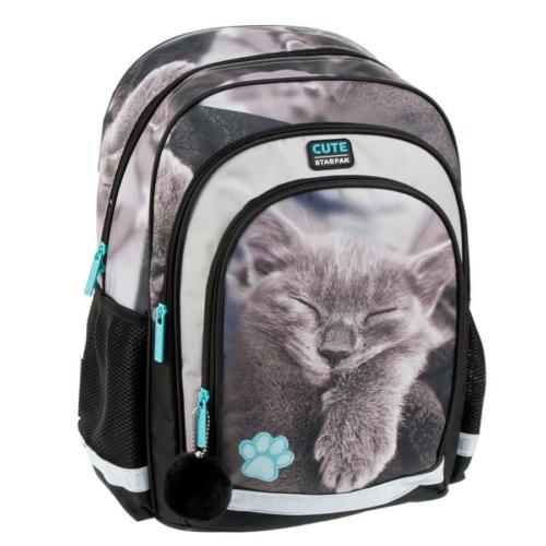 Cicás ergonomikus iskolatáska, hátizsák - Cute
