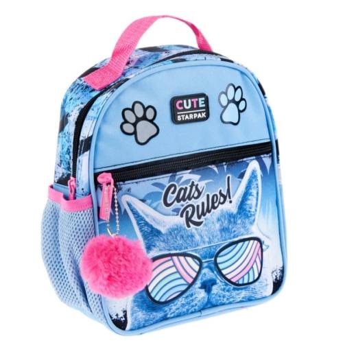 Cicás mini hátizsák - Cats Rules