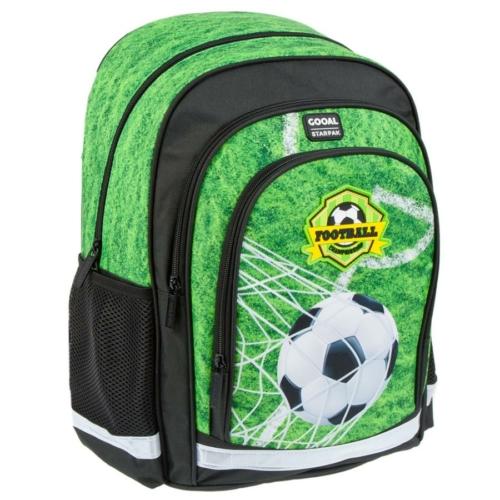 Focis ergonomikus hátizsák, iskolatáska - Football Championship