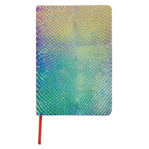 Kígyóbőr mintás napló 15 x 20 cm