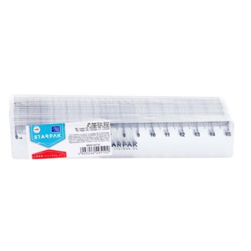 Műanyag 15 cm-es vonalzó
