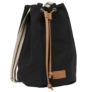 Kép 1/3 - Derform - BackUp 2in1 mini vászon hátizsák - Black