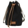 Kép 2/3 - BackUp 2in1 mini vászon hátizsák - Black