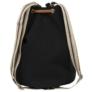 Kép 3/3 - BackUp 2in1 mini vászon hátizsák - Black