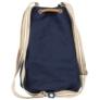 Kép 3/3 - BackUp 2in1 mini vászon hátizsák - Blue