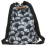 Kép 3/3 - BackUp 2in1 mini vászon hátizsák - Ginkgo levél