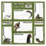 Kép 1/2 - Dinoszauruszok 7 db-os füzetcímke (NNZDN)