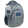 Kép 1/4 - BackUp iskolatáska, hátizsák - 4 rekeszes - Színes pöttyök (PLB1A11)