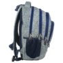 Kép 2/4 - BackUp iskolatáska, hátizsák - 4 rekeszes - Színes pöttyök (PLB1A11)