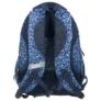 Kép 4/4 - BackUp iskolatáska, hátizsák - 4 rekeszes - Kék virágok (PLB1A14)
