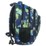 Kép 2/4 - BackUp iskolatáska, hátizsák - 4 rekeszes - Színes pacák (PLB1A22)