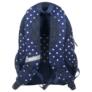 Kép 3/4 - BackUp iskolatáska, hátizsák - 4 rekeszes - Fehér csillagok (PLB1A25)