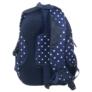 Kép 4/4 - BackUp iskolatáska, hátizsák - 4 rekeszes - Fehér csillagok (PLB1A25)