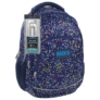 Kép 1/4 - BackUp iskolatáska, hátizsák - 4 rekeszes - Színes pöttyök (PLB1A3)