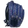 Kép 2/4 - BackUp iskolatáska, hátizsák - 4 rekeszes - Színes pöttyök (PLB1A3)