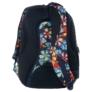 Kép 3/5 - BackUp iskolatáska, hátizsák - 4 rekeszes - Trópusi virágok (PLB1B2)