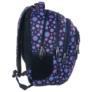 Kép 2/5 - BackUp iskolatáska, hátizsák - 4 rekeszes - Pöttyös (PLB1B6)