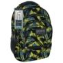 Kép 1/5 - BackUp iskolatáska, hátizsák - 4 rekeszes - Absztrakt (PLB1C29)