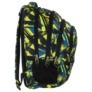 Kép 2/5 - BackUp iskolatáska, hátizsák - 4 rekeszes - Absztrakt (PLB1C29)