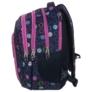 Kép 2/5 - BackUp iskolatáska, hátizsák - 3 rekeszes - Színes karikák (PLB1D18)