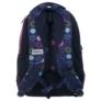 Kép 3/5 - BackUp iskolatáska, hátizsák - 3 rekeszes - Színes karikák (PLB1D18)
