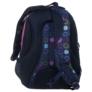Kép 4/5 - BackUp iskolatáska, hátizsák - 3 rekeszes - Színes karikák (PLB1D18)