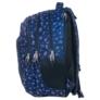 Kép 2/5 - BackUp iskolatáska, hátizsák - 3 rekeszes - Piros virágok (PLB1D26)