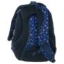 Kép 4/5 - BackUp iskolatáska, hátizsák - 3 rekeszes - Piros virágok (PLB1D26)