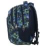 Kép 2/5 - BackUp iskolatáska, hátizsák - 3 rekeszes - Kék-zöld (PLB1D30)