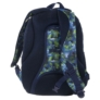 Kép 4/5 - BackUp iskolatáska, hátizsák - 3 rekeszes - Kék-zöld (PLB1D30)