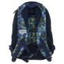 Kép 5/5 - BackUp iskolatáska, hátizsák - 3 rekeszes - Kék-zöld (PLB1D30)