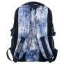 Kép 4/5 - BackUp iskolatáska, hátizsák - 3 rekeszes - Kék-lila virágok (PLB1G44)
