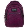 Kép 2/6 - BackUp iskolatáska, hátizsák - 3 rekeszes - Fekete-rózsaszín (PLB1H20)