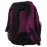 Kép 5/6 - BackUp iskolatáska, hátizsák - 3 rekeszes - Fekete-rózsaszín (PLB1H20)