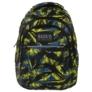 Kép 3/6 - BackUp iskolatáska, hátizsák - 3 rekeszes - Kék-zöld (PLB1H29)