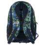 Kép 4/6 - BackUp iskolatáska, hátizsák - 3 rekeszes - Kék-zöld (PLB1H30)