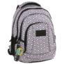 Kép 1/5 - BackUp iskolatáska, hátizsák - 4 rekeszes - Rózsaszín (PLB2A02)