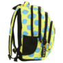 Kép 3/8 - BackUp iskolatáska, hátizsák - 4 rekeszes - Citromok (PLB2A23)