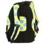 Kép 5/8 - BackUp iskolatáska, hátizsák - 4 rekeszes - Citromok (PLB2A23)