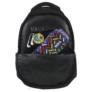 Kép 6/8 - BackUp iskolatáska, hátizsák - 4 rekeszes - Citromok (PLB2A23)