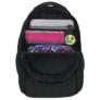 Kép 8/8 - BackUp iskolatáska, hátizsák - 4 rekeszes - Citromok (PLB2A23)