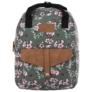Kép 2/4 - BackUp iskolatáska, hátizsák - 1 rekeszes - Lila virágok (PLB2CA24)