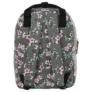 Kép 4/4 - BackUp iskolatáska, hátizsák - 1 rekeszes - Lila virágok (PLB2CA24)