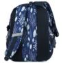 Kép 5/5 - BackUp iskolatáska, hátizsák - 3 rekeszes - Kék levelek (PLB2G61)