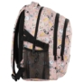 Kép 3/5 - BackUp iskolatáska, hátizsák - 3 rekeszes - Mókás macskák (PLB2G62)
