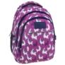 Kép 1/8 - BackUp iskolatáska, hátizsák - 3 rekeszes - Lámák (PLB2H03)