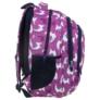 Kép 3/8 - BackUp iskolatáska, hátizsák - 3 rekeszes - Lámák (PLB2H03)