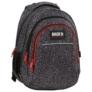Kép 1/8 - BackUp iskolatáska, hátizsák - 3 rekeszes - Elefántbőr (PLB2H38)