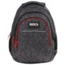 Kép 2/8 - BackUp iskolatáska, hátizsák - 3 rekeszes - Elefántbőr (PLB2H38)