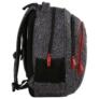 Kép 3/8 - BackUp iskolatáska, hátizsák - 3 rekeszes - Elefántbőr (PLB2H38)